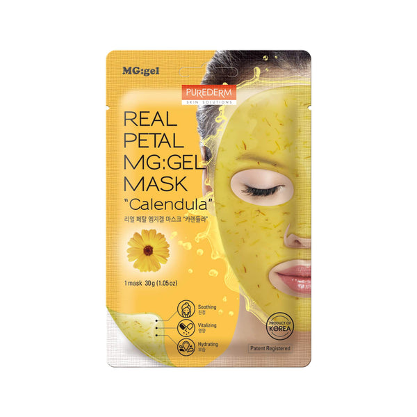 "Real Petal MG Gel Mask ""Calendula"""