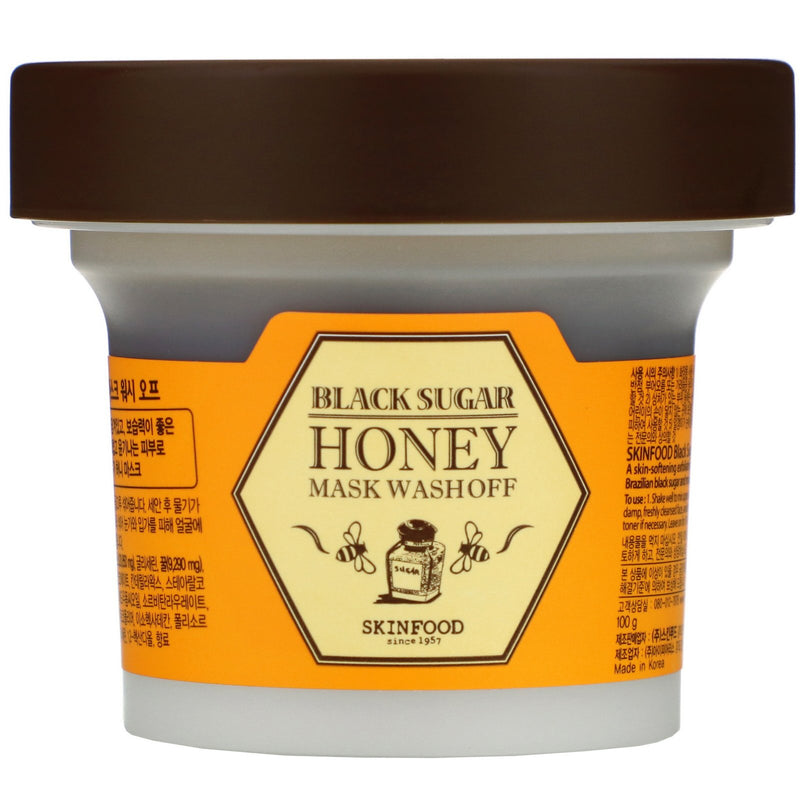 Black Sugar Honey Mask Wash Off 100g