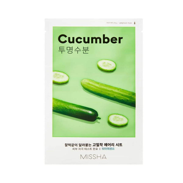 Cucumber Airy Fit Sheet Mask