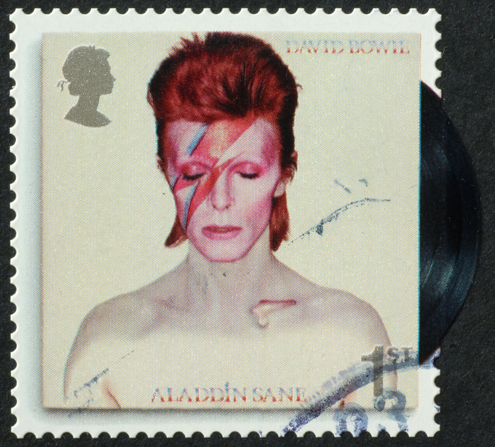David Bowie Stamp