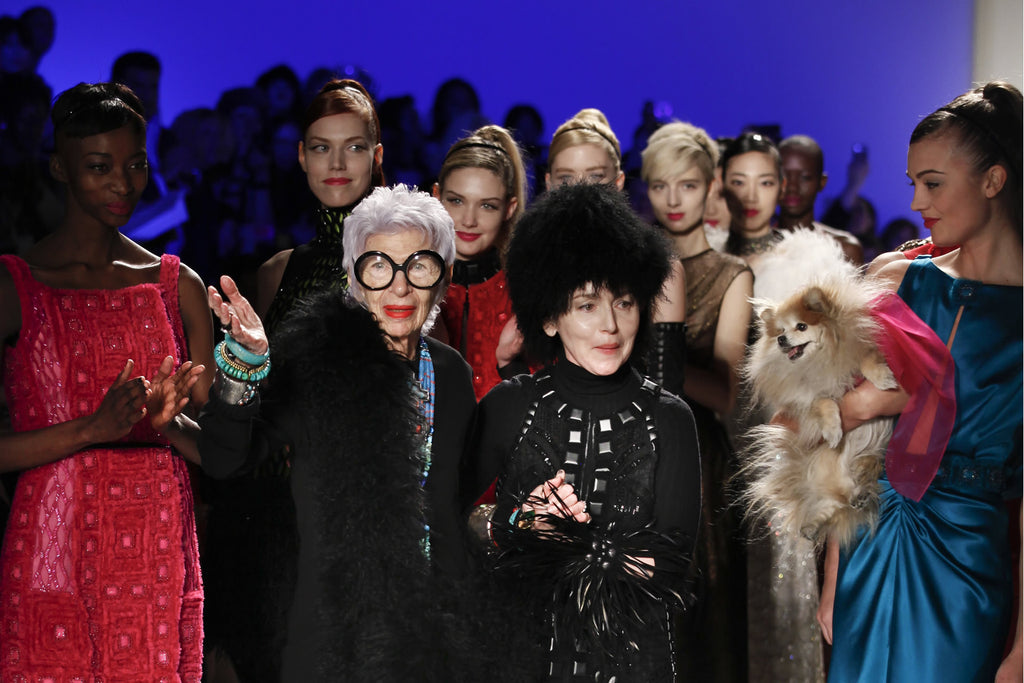 THE BEAUTY OF IRIS APFEL