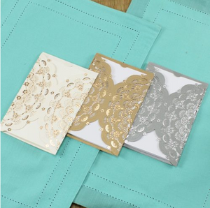 Laser-Cut Invitations