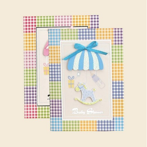 Baby Shower Laser-Cut Invitations