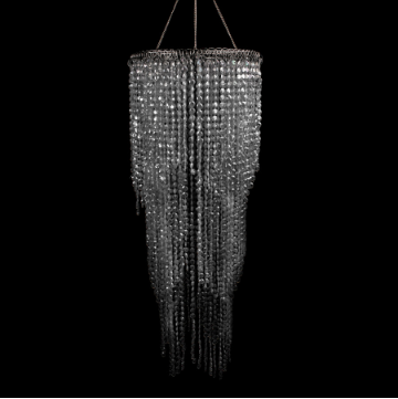 Crystal Three Layered Chandelier