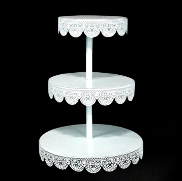 Round Eyelet Treat Metal 3 Tier