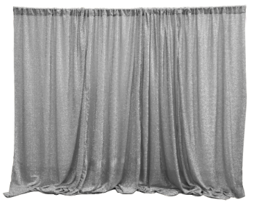 Metallic Spandex Backdrop