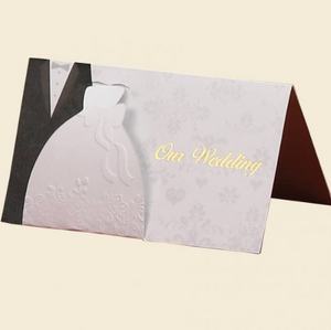 """Our Wedding"" Pop-up Invitations"