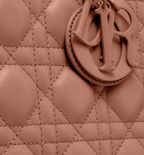 Load image into Gallery viewer, Medium Lady Dior Bag • Blush Ultramatte Cannage Calfskin