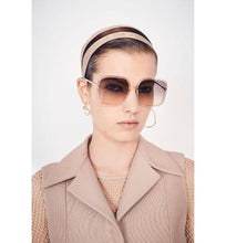 Load image into Gallery viewer, DiorSostellaire1 • Pink Square Sunglasses