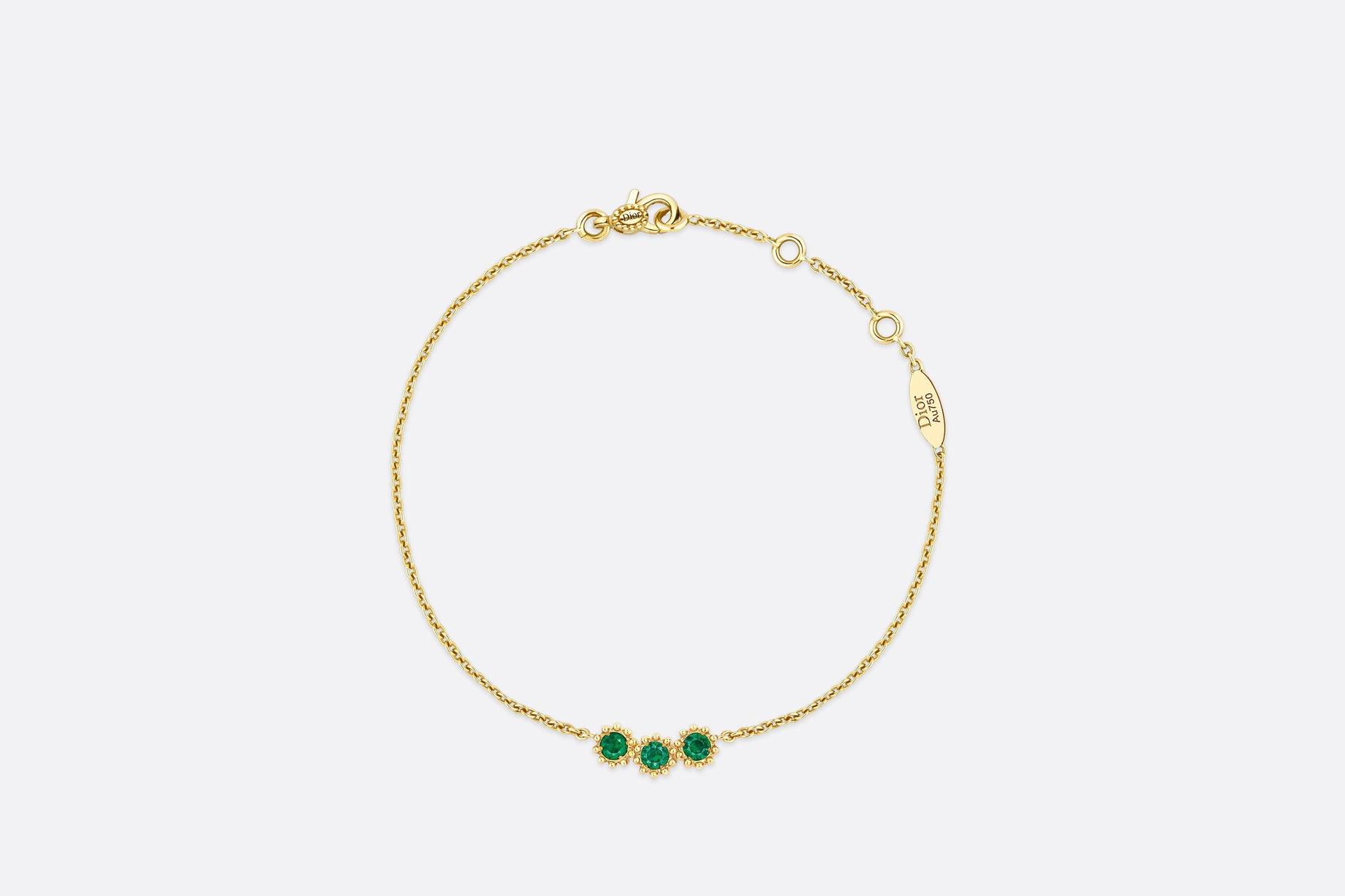 Mimirose Bracelet • Yellow Gold and Emeralds