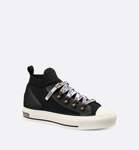 Walk'n'Dior Sneaker • Black Technical Mesh