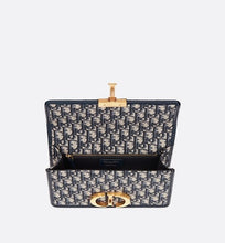 Load image into Gallery viewer, 30 Montaigne Bag • Blue Dior Oblique Jacquard