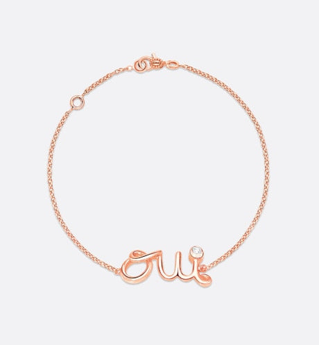 Oui Bracelet • Rose Gold and Diamond