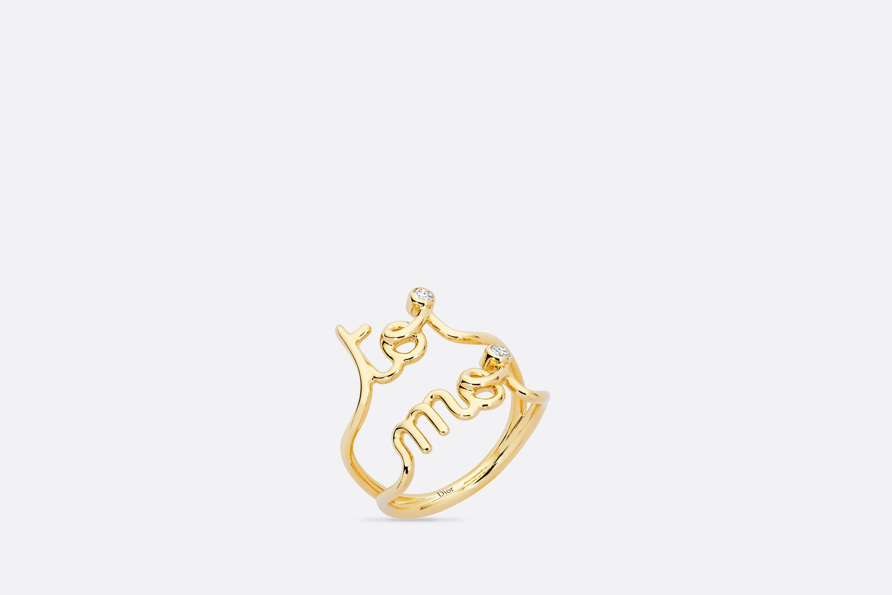 Oui Ring • Yellow Gold and Diamonds