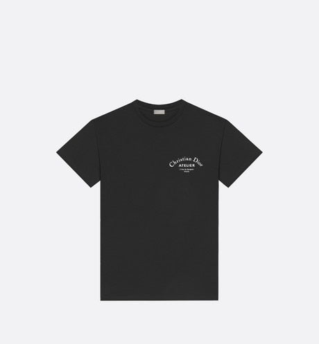 Christian Dior Atelier T-Shirt • Black Cotton
