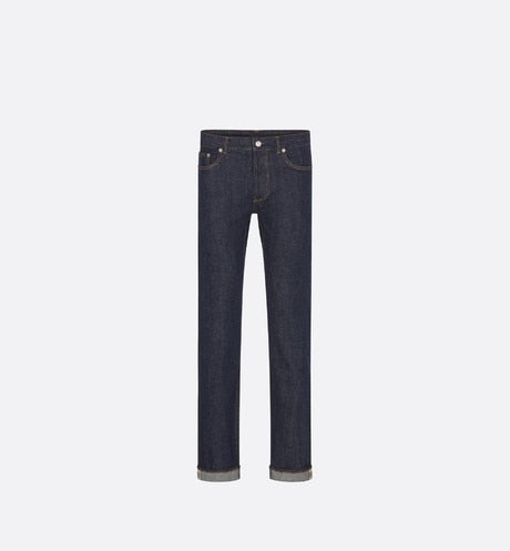 Selvedge Slim-Fit Jeans • Raw Blue Cotton