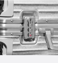 Load image into Gallery viewer, DIOR and RIMOWA Cabin Suitcase • Gray Dior Oblique Aluminum