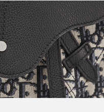 Load image into Gallery viewer, Messenger Bag • Beige and Black Dior Oblique Jacquard