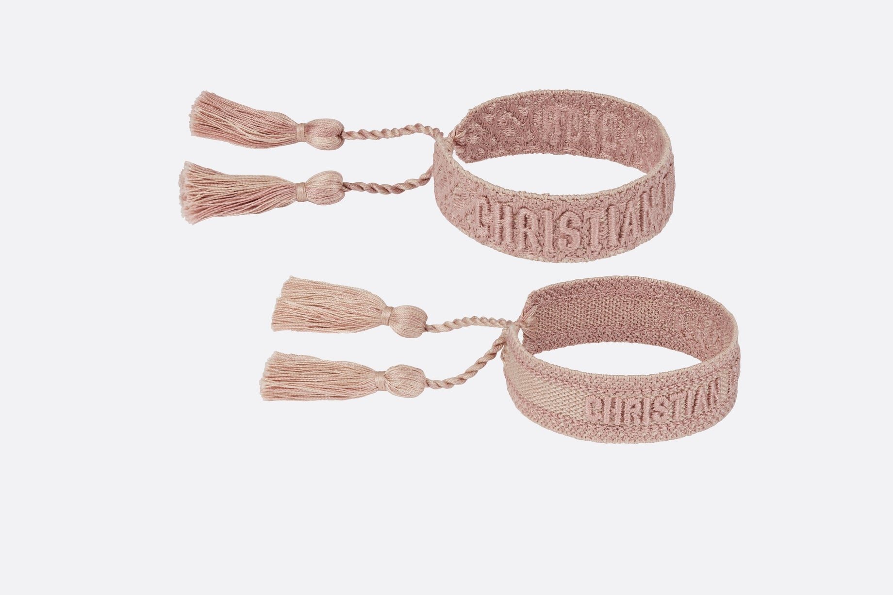 J'Adior Bracelet Set • Pink Dior Oblique Cotton