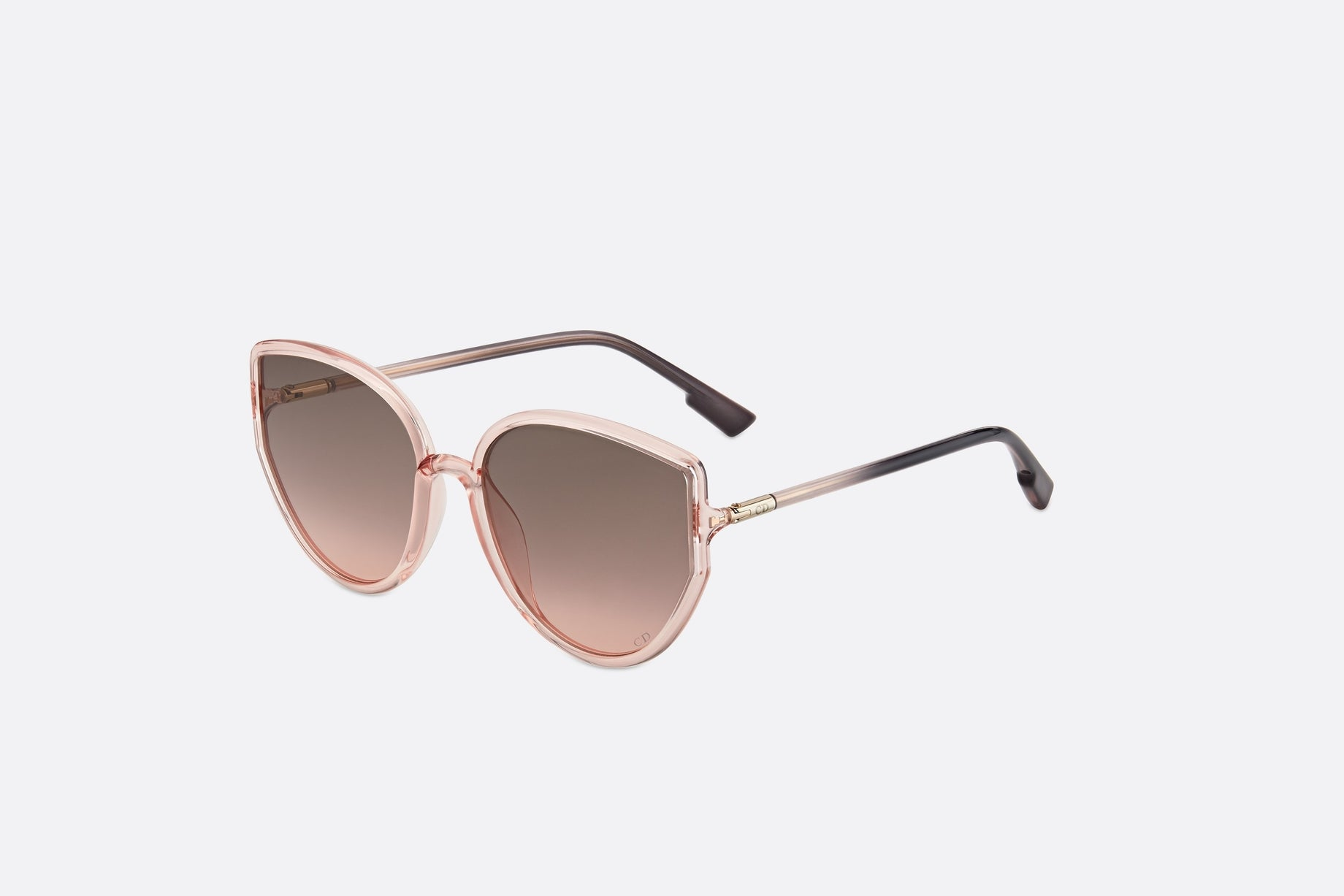 DiorSostellaire4 • Transparent Pink Butterfly Sunglasses