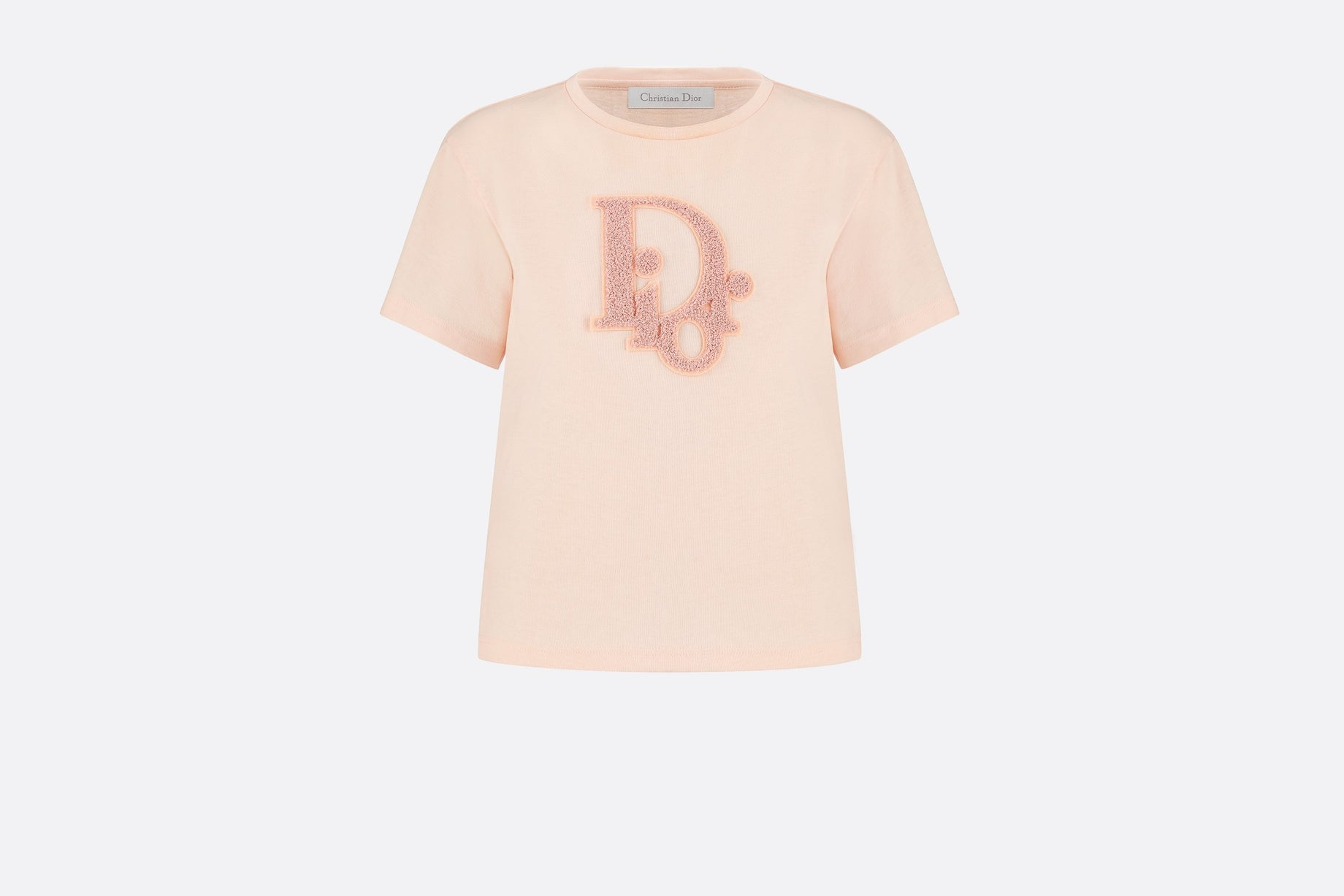 T-Shirt • Pale Pink Cotton Jersey