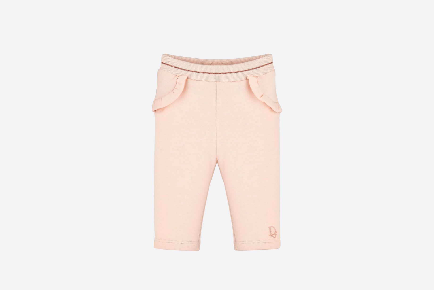 Track Pants • Pale Pink Cotton Fleece
