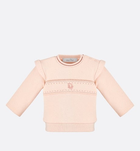 Sweatshirt • Pale Pink Cotton Fleece
