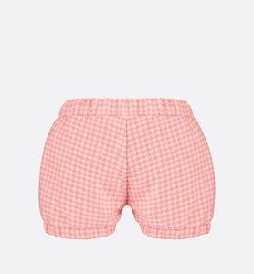 Bloomer Shorts • Rosewood Houndstooth Cashmere and Wool