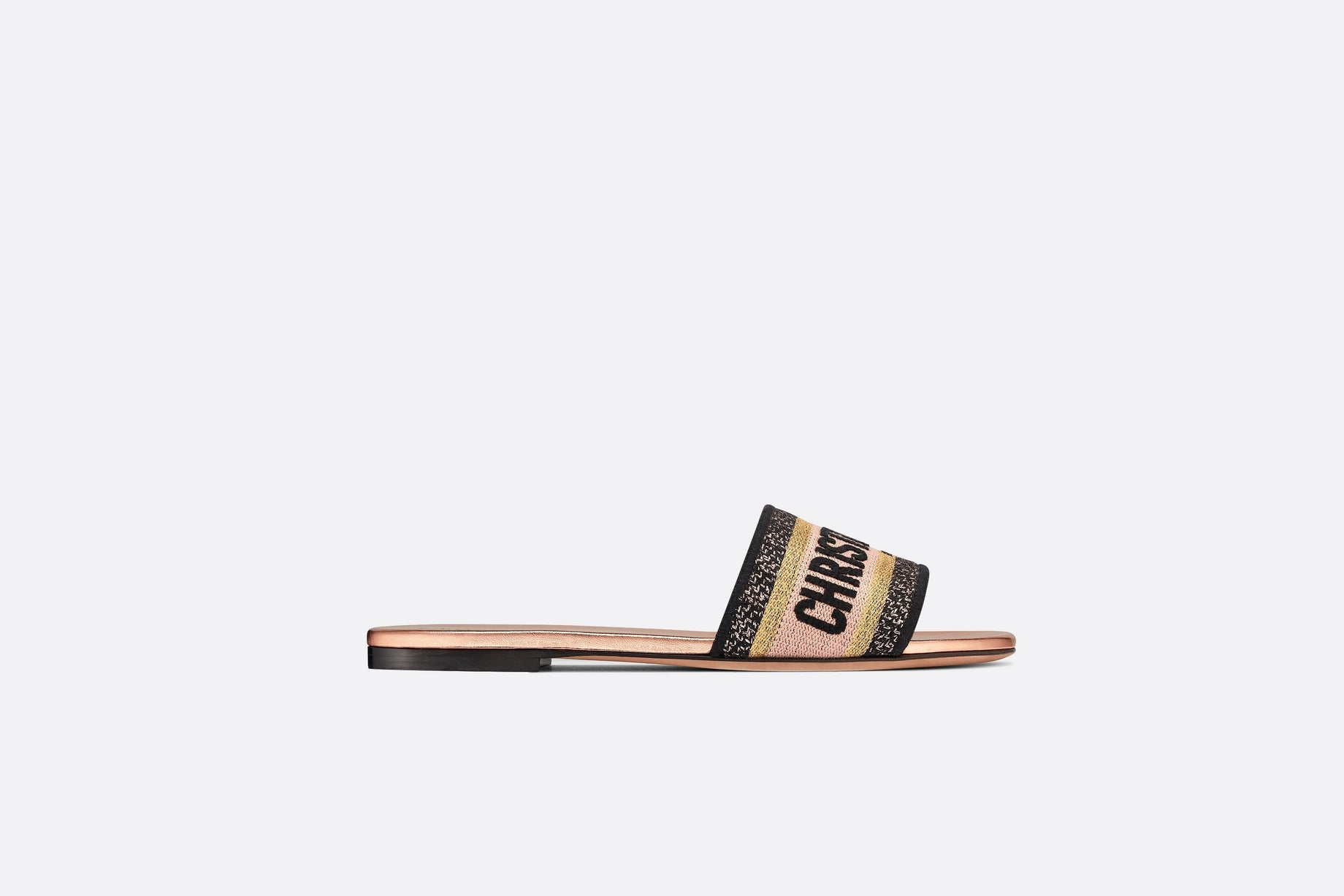 Dway Mule • Multicolor Metallic Thread and Cotton