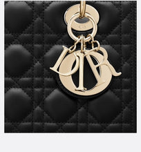 Load image into Gallery viewer, Medium Lady Dior Bag • Black Lambskin
