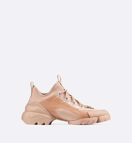 D-Connect Sneaker • Nude Technical Fabric