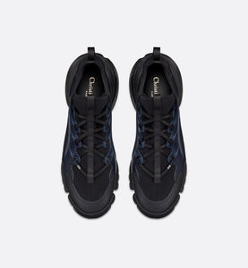 D-Connect Sneaker • Black Technical Fabric