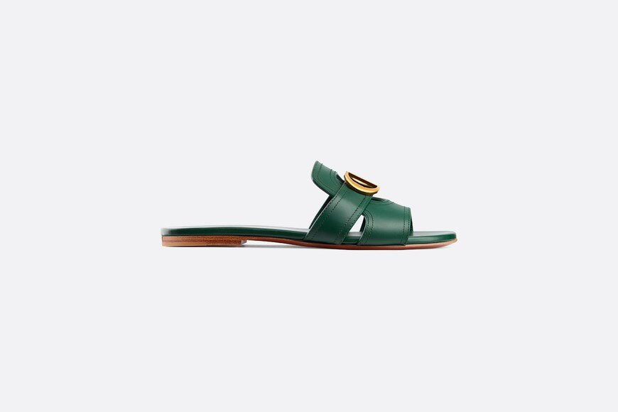 30 Montaigne Mule • Cypress Green Calfskin