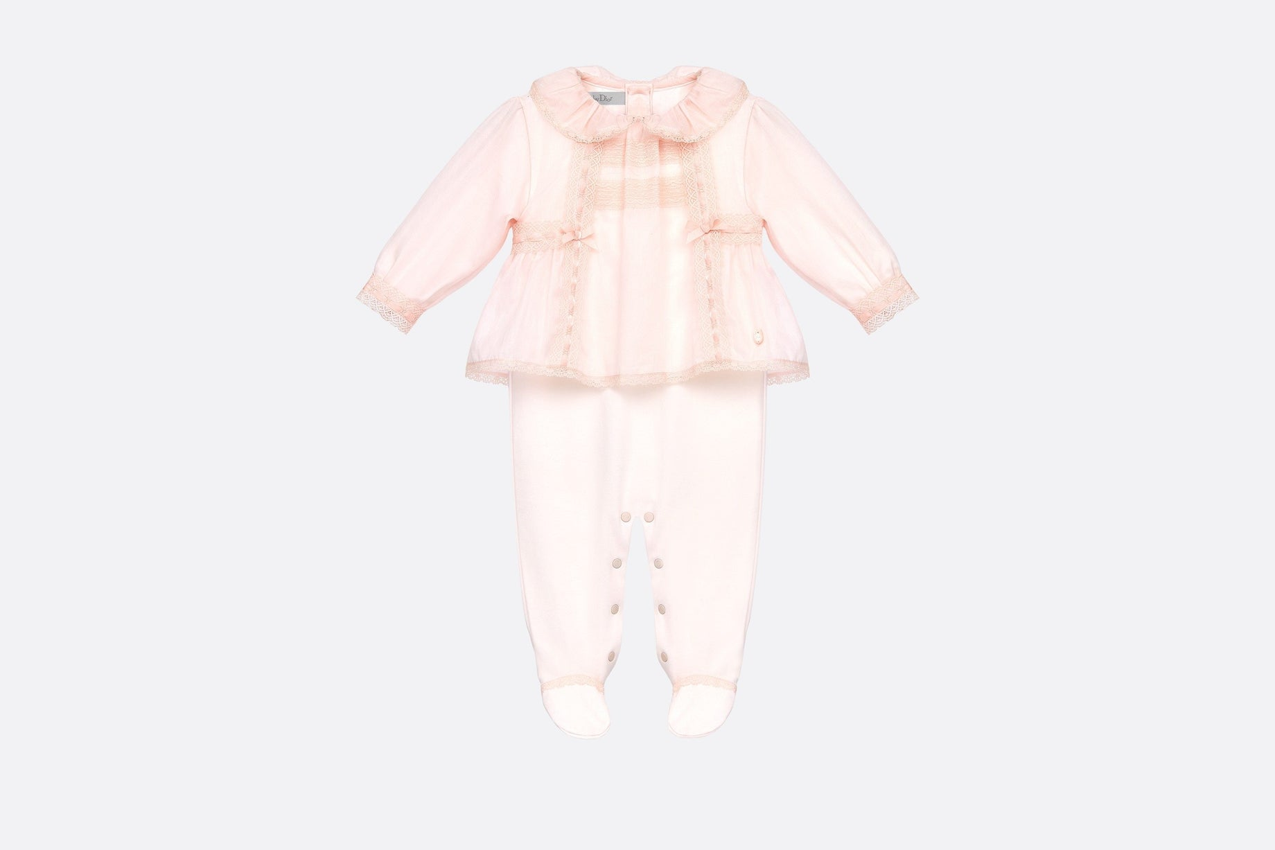 Pajama • Pink Interlock and Cotton Voile