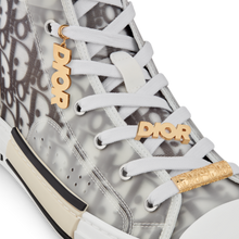 Load image into Gallery viewer, B23 High-Top Sneaker • White Dior Oblique Technical Fabric