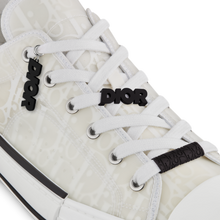 Load image into Gallery viewer, B23 Low-Top Sneaker • Dior Oblique Technical Canvas and White Calfskin
