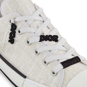 B23 Low-Top Sneaker • Dior Oblique Technical Canvas and White Calfskin