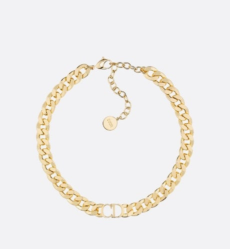 Danseuse Etoile Choker Necklace • Gold-Finish Metal