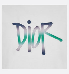 DIOR AND SHAWN T-Shirt • White Cotton