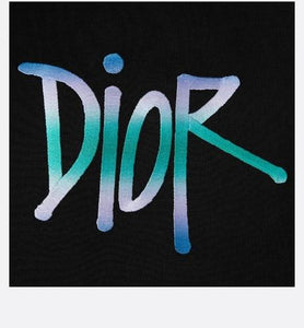 DIOR AND SHAWN T-Shirt • Black Cotton