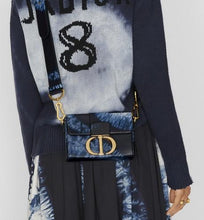 Load image into Gallery viewer, 30 Montaigne Box Bag • Blue Multicolor Tie & Dior Printed Calfskin