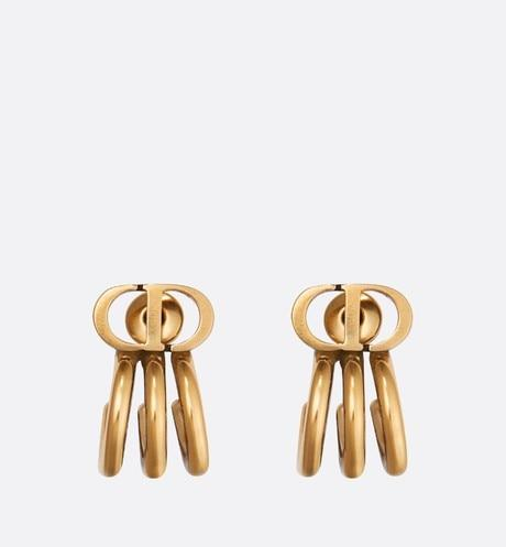 30 Montaigne Earrings • Antique Gold-Finish Metal