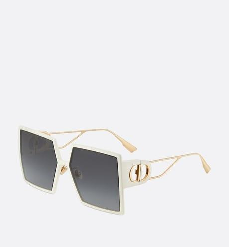 30Montaigne • Ivory Square Sunglasses