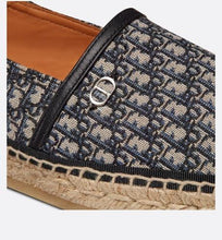 Load image into Gallery viewer, Dior Paradise Espadrille • Beige and Black Dior Oblique Jacquard