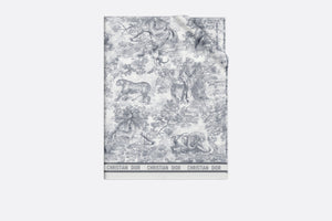 Dioriviera Toile de Jouy Sarong • Gray Cotton