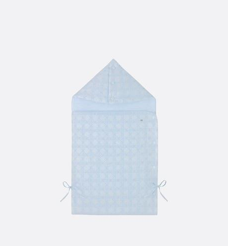 Cannage Bunting Bag • Sky Blue Cotton Poplin