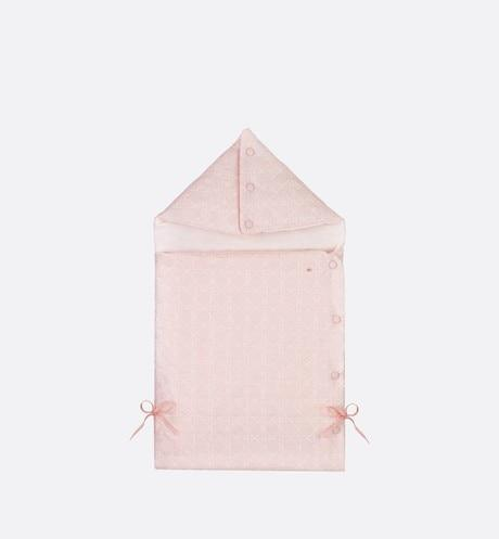 Bunting Bag • Pale Pink Cotton Poplin Embroidery