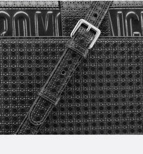 Load image into Gallery viewer, 30 Montaigne Chain Bag • Metallic Black Microcannage Calfskin