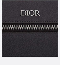 Load image into Gallery viewer, Rider Backpack • Dark Gray Grained Calfskin with 'Christian Dior Atelier' Signature