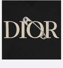 Load image into Gallery viewer, Oversized DIOR AND JUDY BLAME Sweatshirt • Black Cotton Fleece
